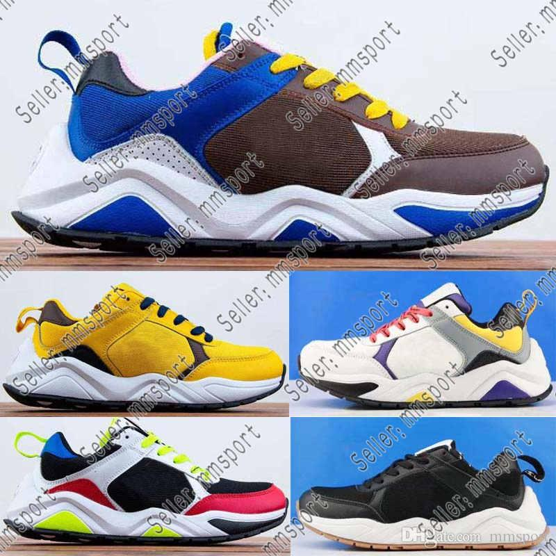 8d59d2cba1aa2 2019 New Champion Shoes CASBIA X AWOL Atlanta Men And Women Sneakers Real  Leather Mesh Breathable Fashion Retro Sneakers Size 36 46 Running Shoes For  Flat ...