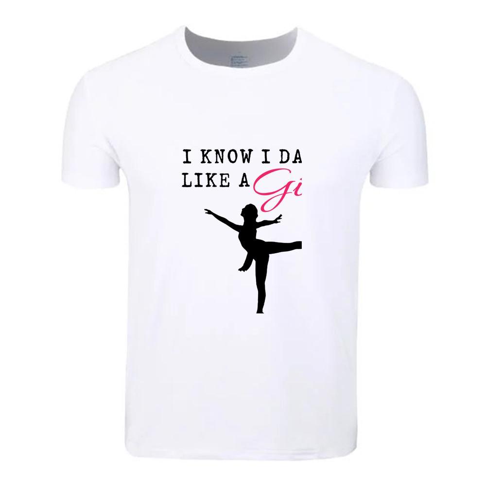 60695fb526aa1 Ballet Girl Dance Pointe Cotton Students Summer T-Shirt Custom Casual Short  Sleeve Men Women Boys Girls T Shirt Tees Kids Tshirt