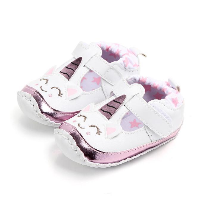 83a863d79e771 Newborn Toddler Baby Girl Soft Crib Shoes Infant Anti-slip Sneaker  Prewalker Cartoon Shoes Baby Shoes Cartoon Shoes Online with  6.86 Piece on  ...