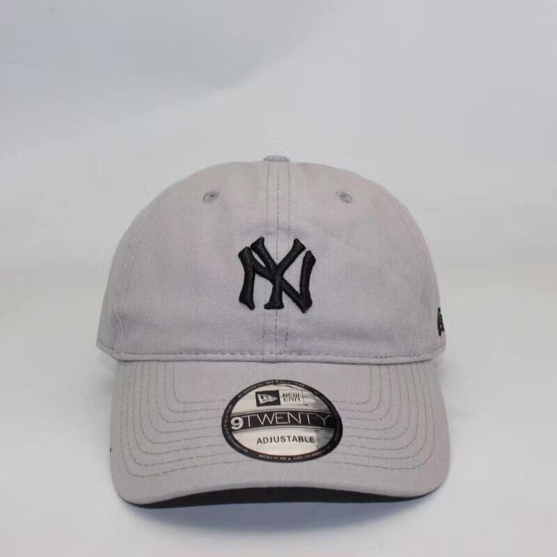 3d0777c6 Hight quality men baseball caps cotton New York ball caps adjustable men  snapback hats women sunshade hats OW baseball caps black white