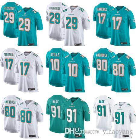 2018 2018 New 29 Minkah Fitzpatrick Miami Dolphins Jersey Mens 17