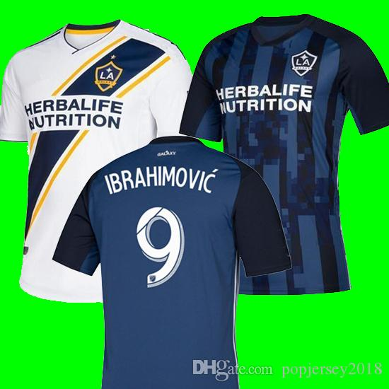 innovative design 61bdd c6bd4 NEW 19 20 IBRAHIMOVIC LA Galaxy jersey soccer Thailand Los Angeles Galaxy  GIOVANI COLE ALESSANDRINI CORONA football kit top shirts 2019 2020