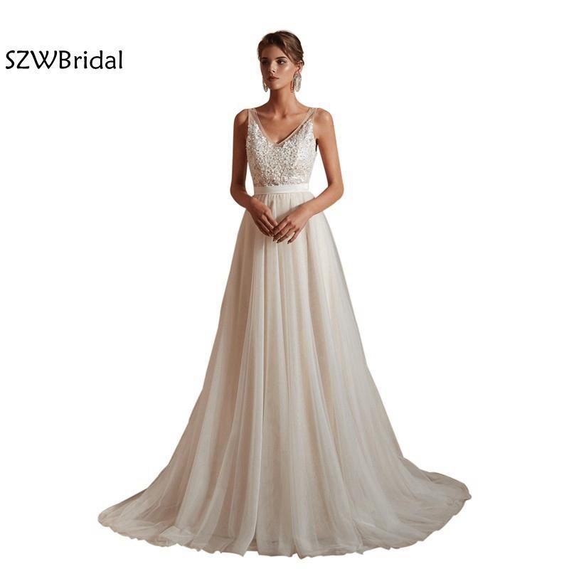 compre nueva llegada vestidos de novia 2019 vestido noiva vestidos