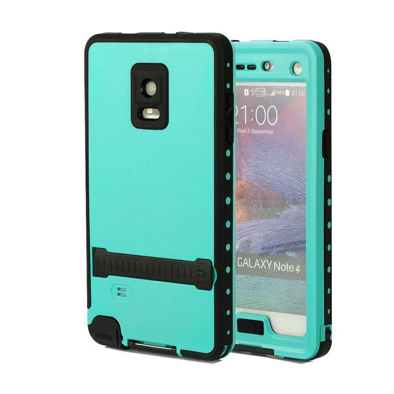 764620c0480 Cases For Samsung Galaxy Note 4 Shockproof Clear Bumper Case With Kickstand  Cover Full Body Rugged Case With Built In Screen Protector Wallet Cell  Phone ...