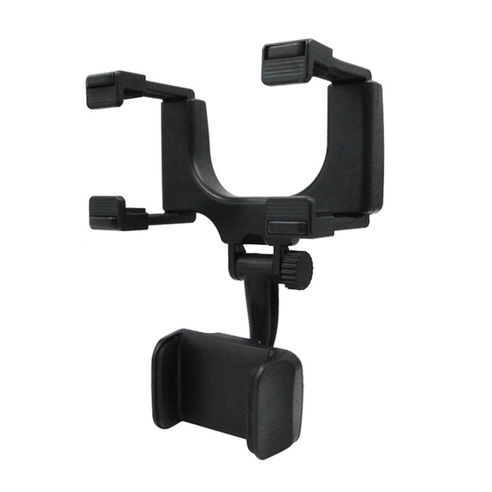 Bracket Rearview Mirror Universal Stand Holder For Cell Phone GPS Mount Clip Accessories Car