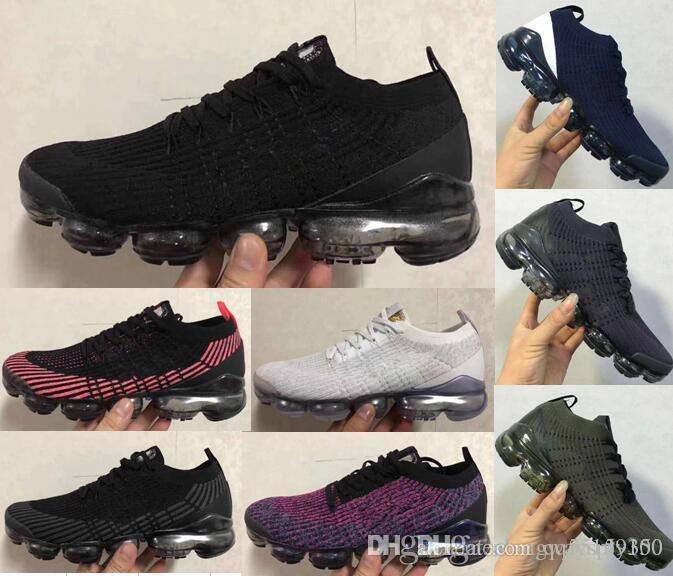 coussin d'air 2019 Air 2.0 V3 Hommes Occasionnels Chaussures Coussin noir Surface Respirant Ligne mouche Chaussures de sport Mxamropavs 2019 Vin rouge