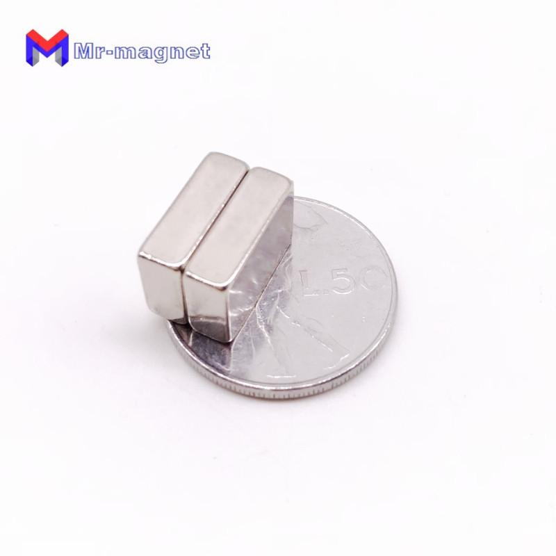 2019 imanes New Imanes De Nevera 10pcs 20mmx 10mmx 8mm Rectangular Magnet Blocks Super Strong Rare Earth Magnetic Material Neodymium Magnets