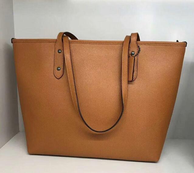 0a26f4be0c6cf Großhandel Luxus Klassische Hohe Qualität 5A Echtleder Einkaufstasche  Geldbörse 32 Cm Designer Handtasche Tote Eimer Handtaschen Dame Messenger  Shopper ...