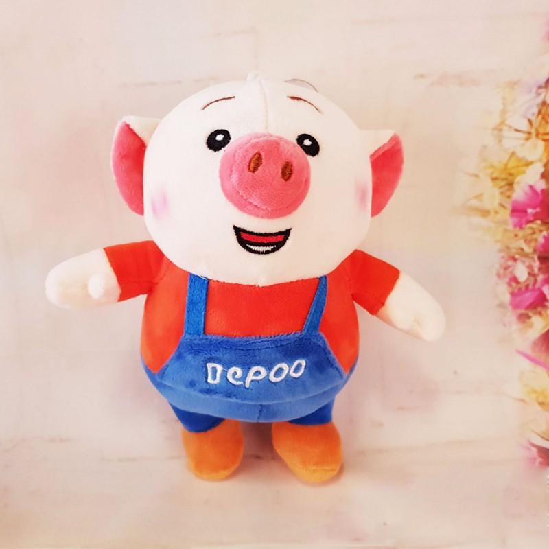3cb3c101f38 2019 Chinese Zodiac Pig Mascot Dolls Toys For Children Baby Cartoon Cotton  Plush Stuffed Animal Soft Toys Activities Party Kids Gifts From Windstore