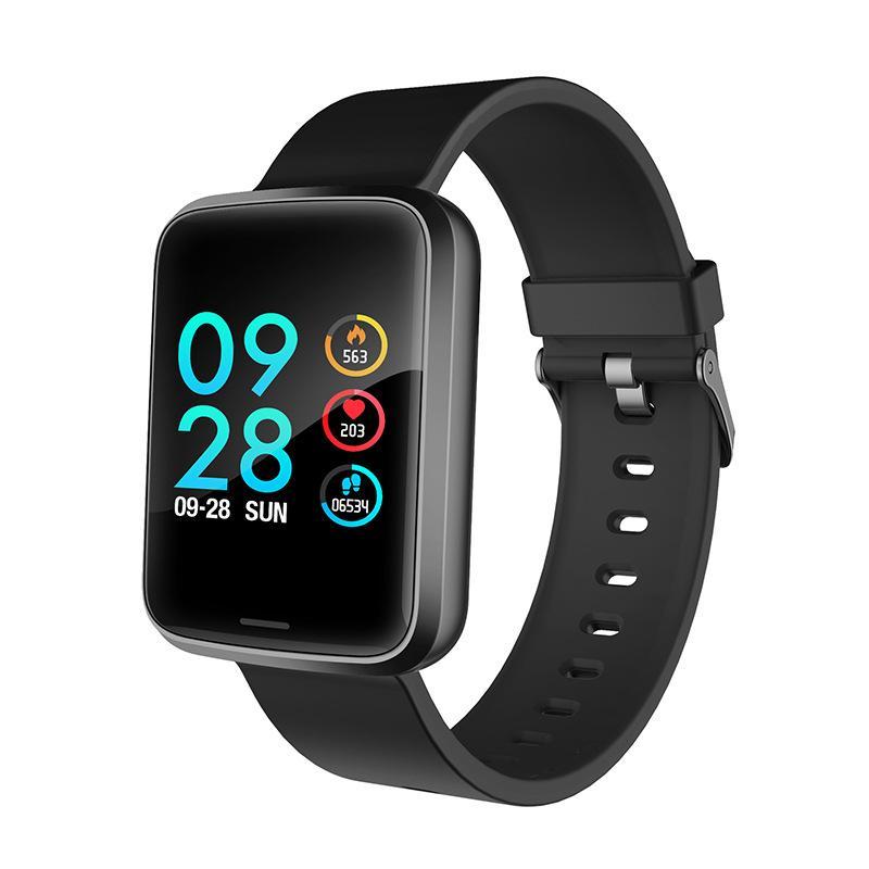 2ca873551df7 Pulseras Bluetooth H19 Pulsera Inteligente 1.3 Pulgadas Pantalla A Color  Entrada Guardia Tarjeta Smartwatch Frecuencia Cardíaca Presión Arterial  Monitoreo ...