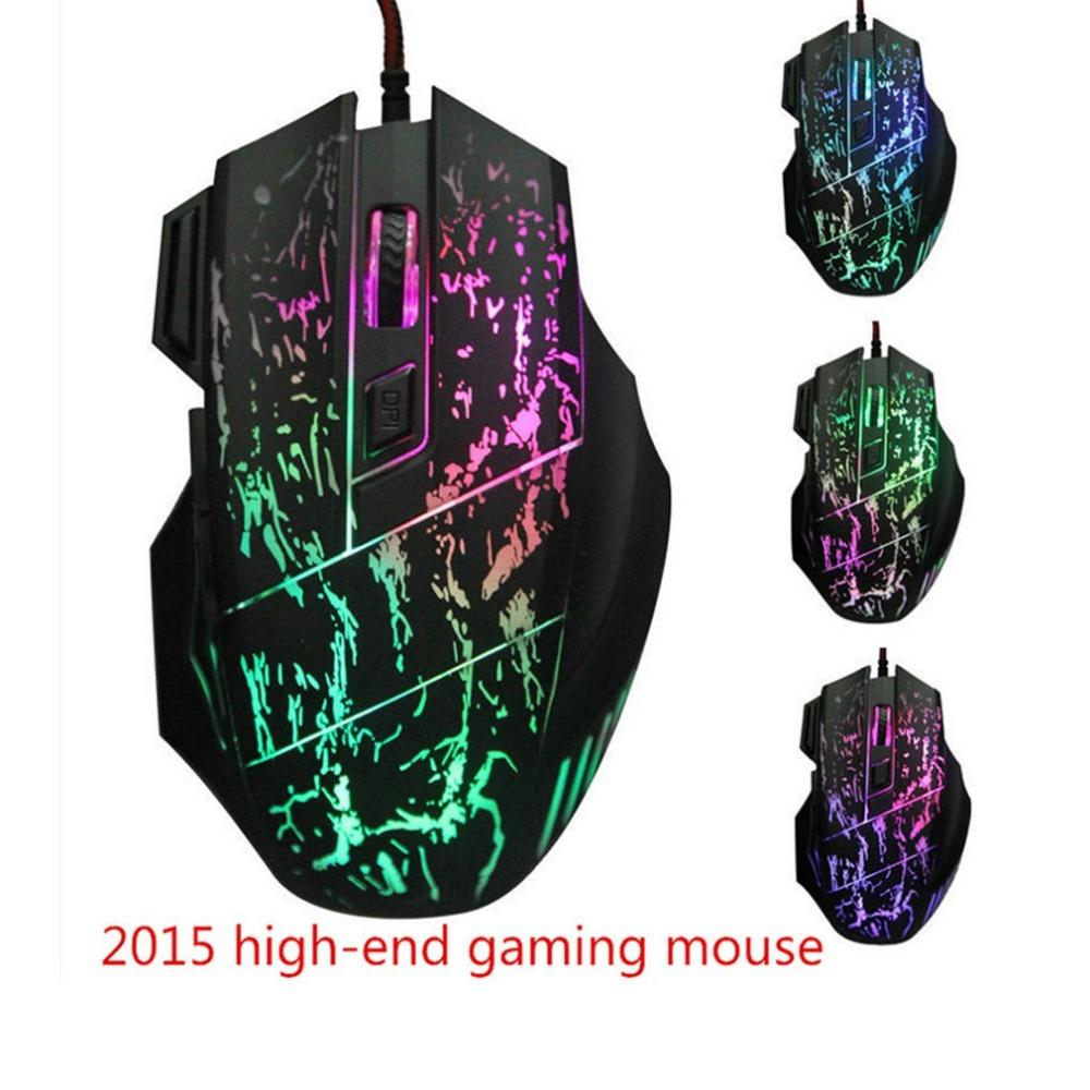 K1029 Silent Click USB Wired Gaming Mouse Mute Optical Computer Mouse Mice for PC Laptop Notebook Game Gamer
