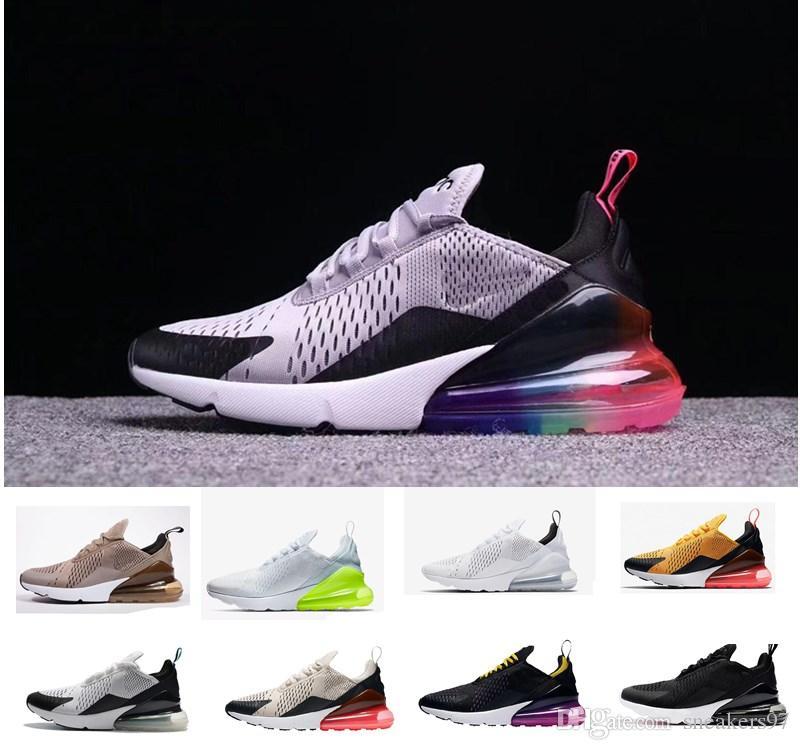 uk availability ca2b2 83725 2019 Date Nike Air Max airmax AIRMAX 270 Running 27C Teal chaussures de  plein air 2 étoiles Hommes Flair Triple Noir-noir-bleu-27C Trainer  Chaussure ...