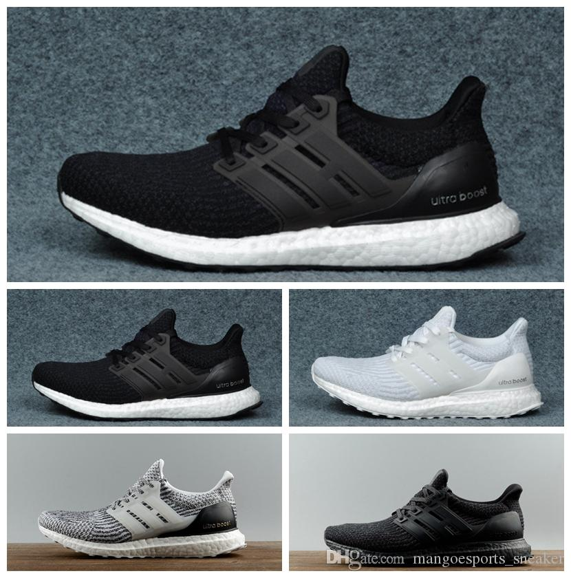 ef45bcb69a569 Ultra Boost 3.0 4.0 Black White 4.0 Oreo CNY Blue Grey Men Women Running  Shoes Ultra Boosts Ultraboost Sport Sneakers Best Running Shoes Running  Shoes Women ...