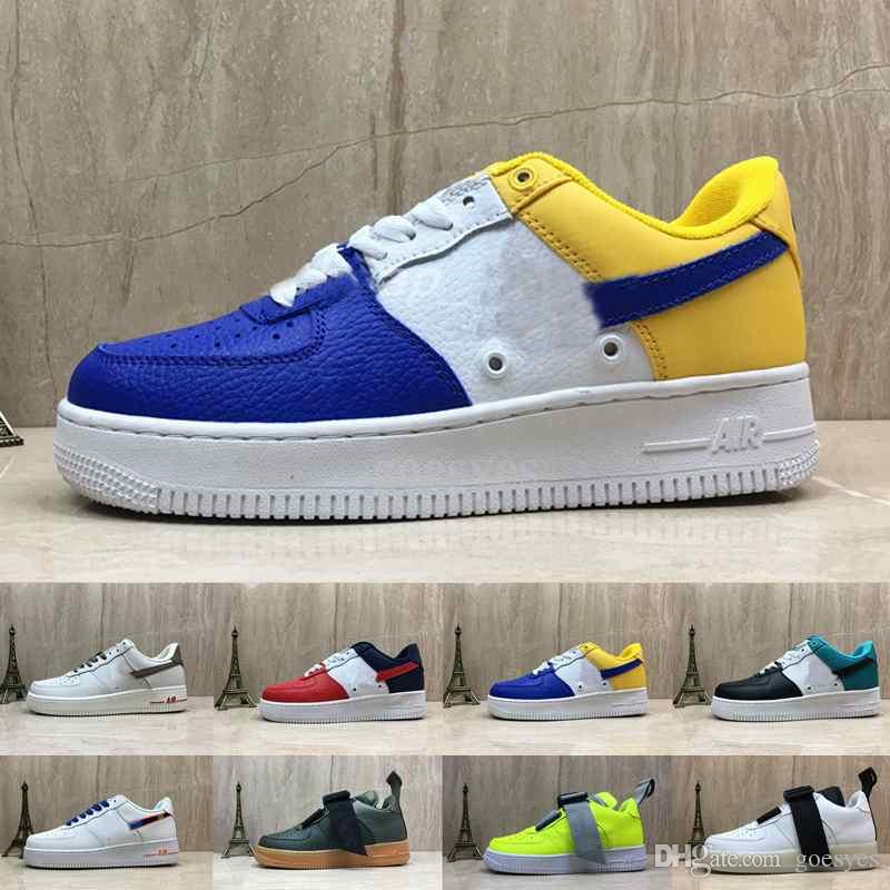 online store 2f211 4f090 2019 Nike Air Force 1 Air Forces Chaussures 07 LV8 Utility Premium ID One  Running Skateboard Shoes Para Hombres Air Mens Forces Entrenadores Deportes  1 ...