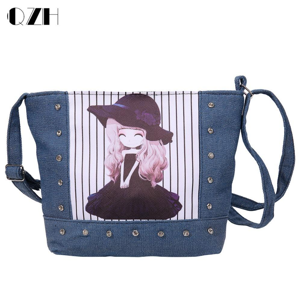 b75ed8b4c3ef Designer Denim Bags For Students Kids Boys Bookbags Children Min Messenger  Bags For Kindergarten Girl Crossbody Shoulder Bags Name Brand Purses  Overnight ...