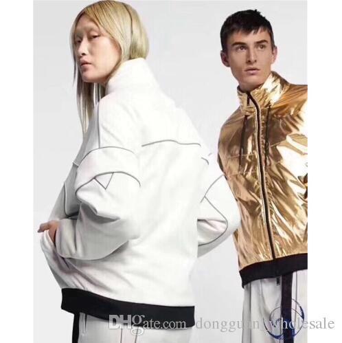 7125f319ff5c4 AMBUSH 3M Reflective Jacket Men Women 1a:1 High Quality Gold Silver 2  Colour AMBUSH Outerwear & Coats Double Sided Wear Jackets Buy Mens Coat  Denim Jacket ...