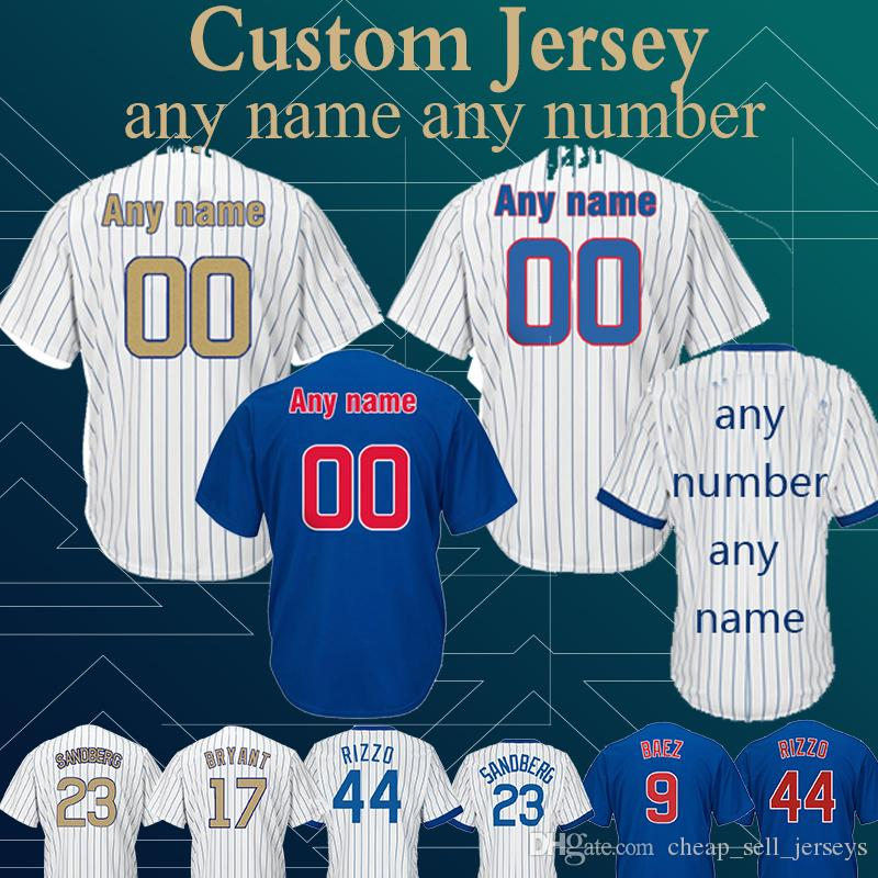 80af73fca 2019 Customized Jersey Cubs 12 Kyle Schwarber 22 Jason Heyward 100%  Stitched High Quality Top Quality From Cheap sell jerseys