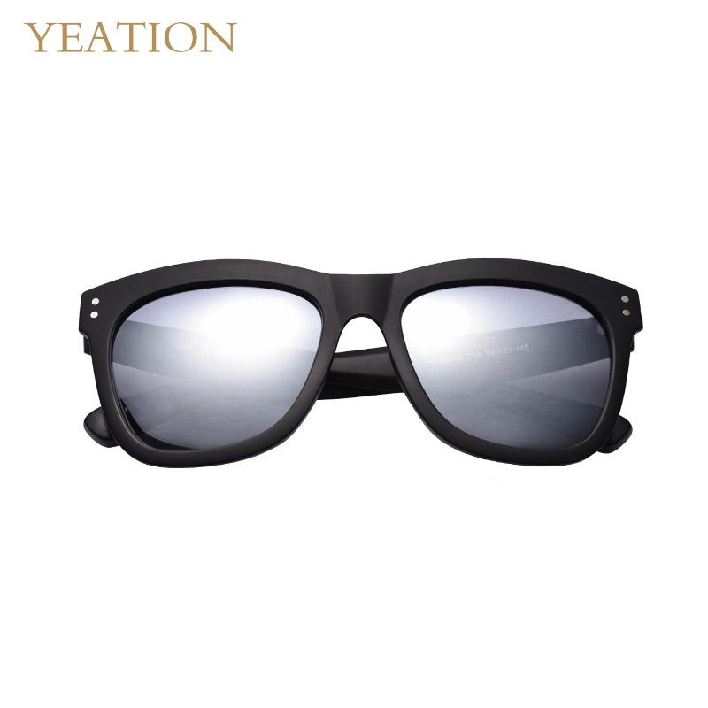 a664914d84 YEATION Man TR90 Polarized Sunglasses Lightweight Square Men s ...