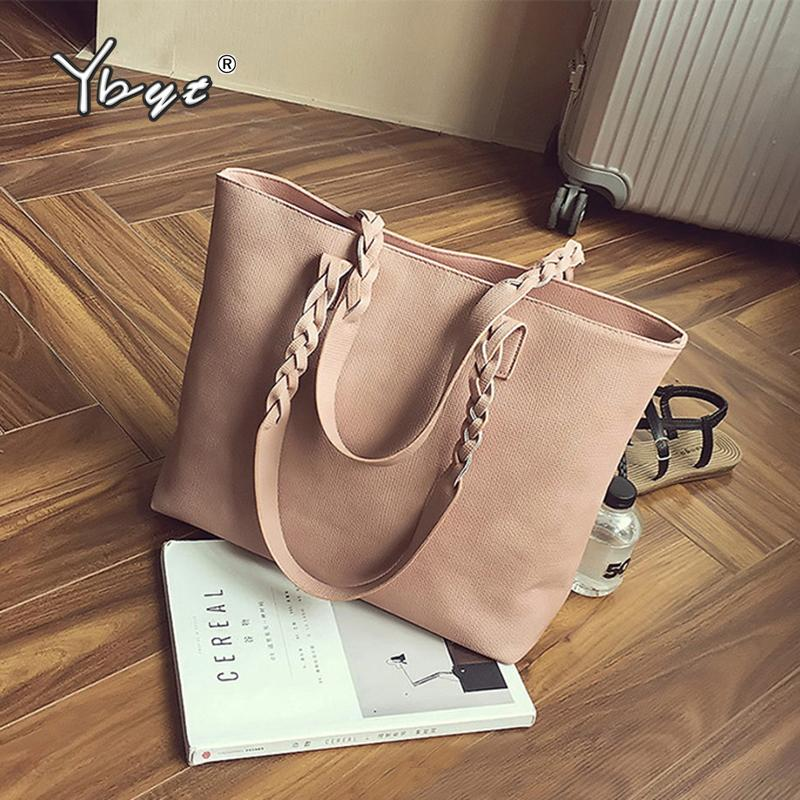 55d325ef920d High Quality Vintage Women Handbags Large Capacity PU Leather Totes ...