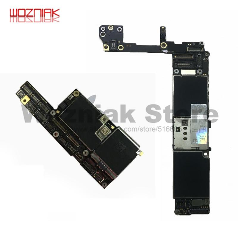 Unlocked Motherboard 16GB 32GB 64GB 128G 256GB For 6 6S 6SP 6P 7G 7P 8G 8P X Unlock Touch ID Full Function 100% Original