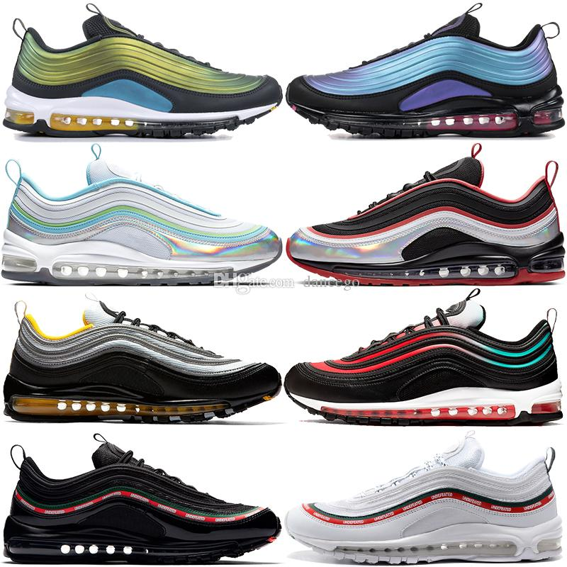 Nike Air Max 97 LX Throwback futrue Neon seoul Bullet OG zapatillas para mujer Black Grape Guava Ice PRM bordeaux Sneakers South Beach zapatos de