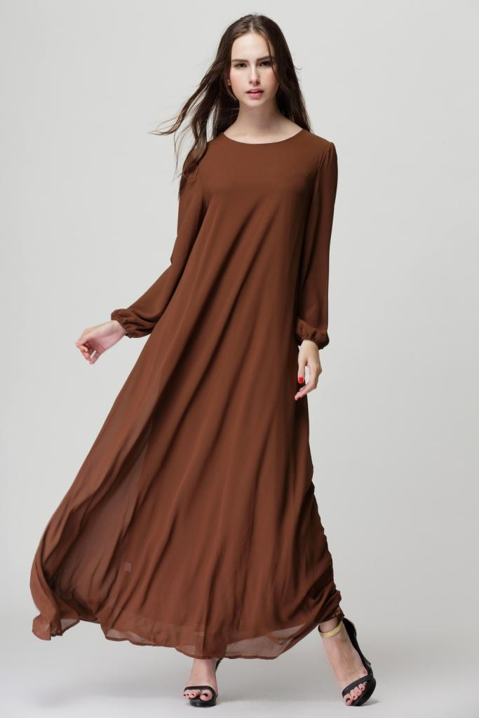 716d93f3f15 2019 2018 Autumn Women Maxi Muslim Long Dubai Dress Moroccan Kaftan Caftan  Jilbab Islamic Abaya Muslim Turkish Arabic Dress Robe From Cacy, $47.19 |  DHgate.
