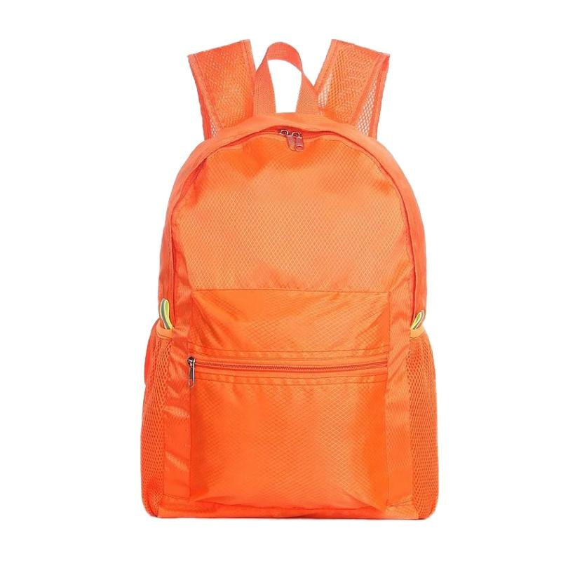 df5b641bf0a1 Double Shoulder Backpack Women Men Large Capacity Nylon Lightweight Folding  Waterproof Breathable Gym Bag Sportswear Accessories