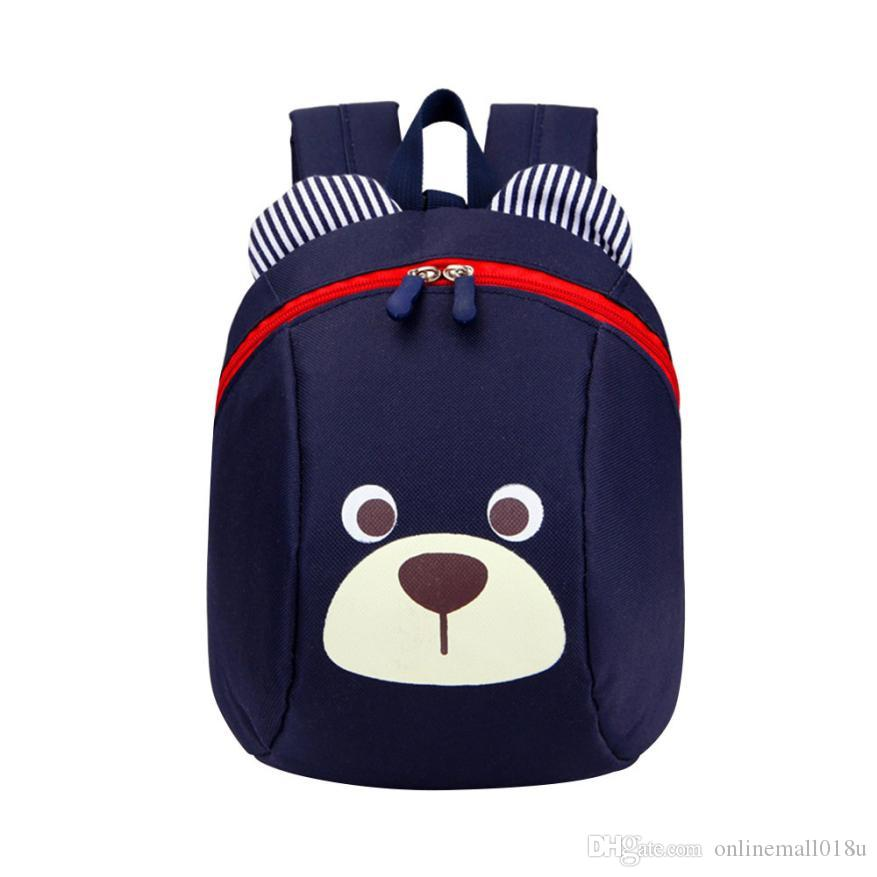 Toddler Backpack Anti-lost Kids Baby Bag Cute Animal Dog Children Backpack Kindergarten Bear bag