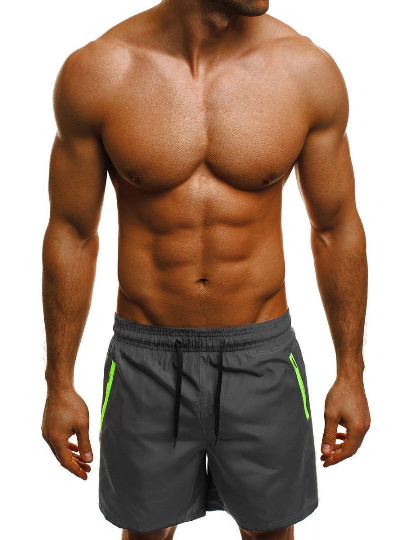 Moda Casual Verano Solid Suelta Hombre Para Niza Hombres Fitness Ropa Corto Pop Regular Mid JF1TKlc3