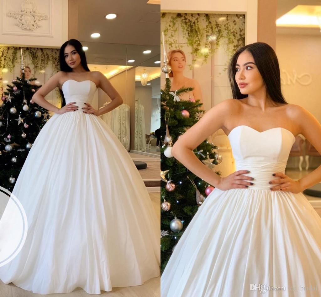 Elegant Sweetheart Ball Gowns Wedding Dresses 2019 Sexy Backless ... e9b2876eaa6a