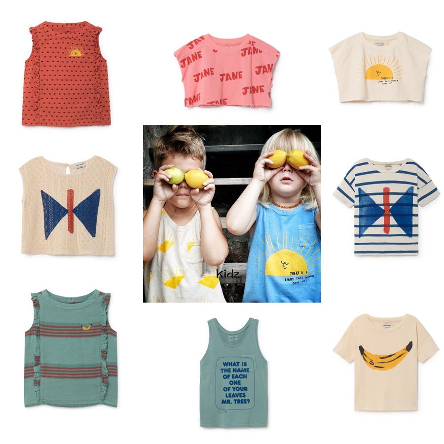 5e974a23f52 2019 Kids T Shirts Boys Clothes Bobo Choses 2019 Summer Cartoon Baby Girls  Cottons T Shirt Casual Top Tees T Shirt Children Clothing From Westbit20