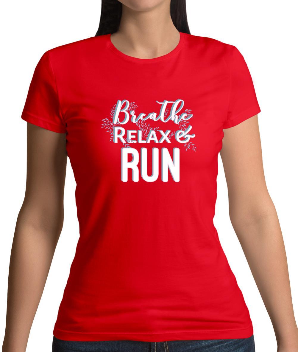 Atme Entspann Lauf Damen T Shirt Lustige Sprüche Yoga Relax Parcour Sport  Run Men Women Unisex Fashion Tshirt Designable T Shirts Buy Funny Shirts  From ...