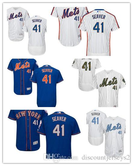 newest collection c4c4e 171ef 2019 Mets Jerseys #41 Tom Seaver Jerseys men#WOMEN#YOUTH#Men s Baseball  Jersey Majestic Stitched Professional sportswear