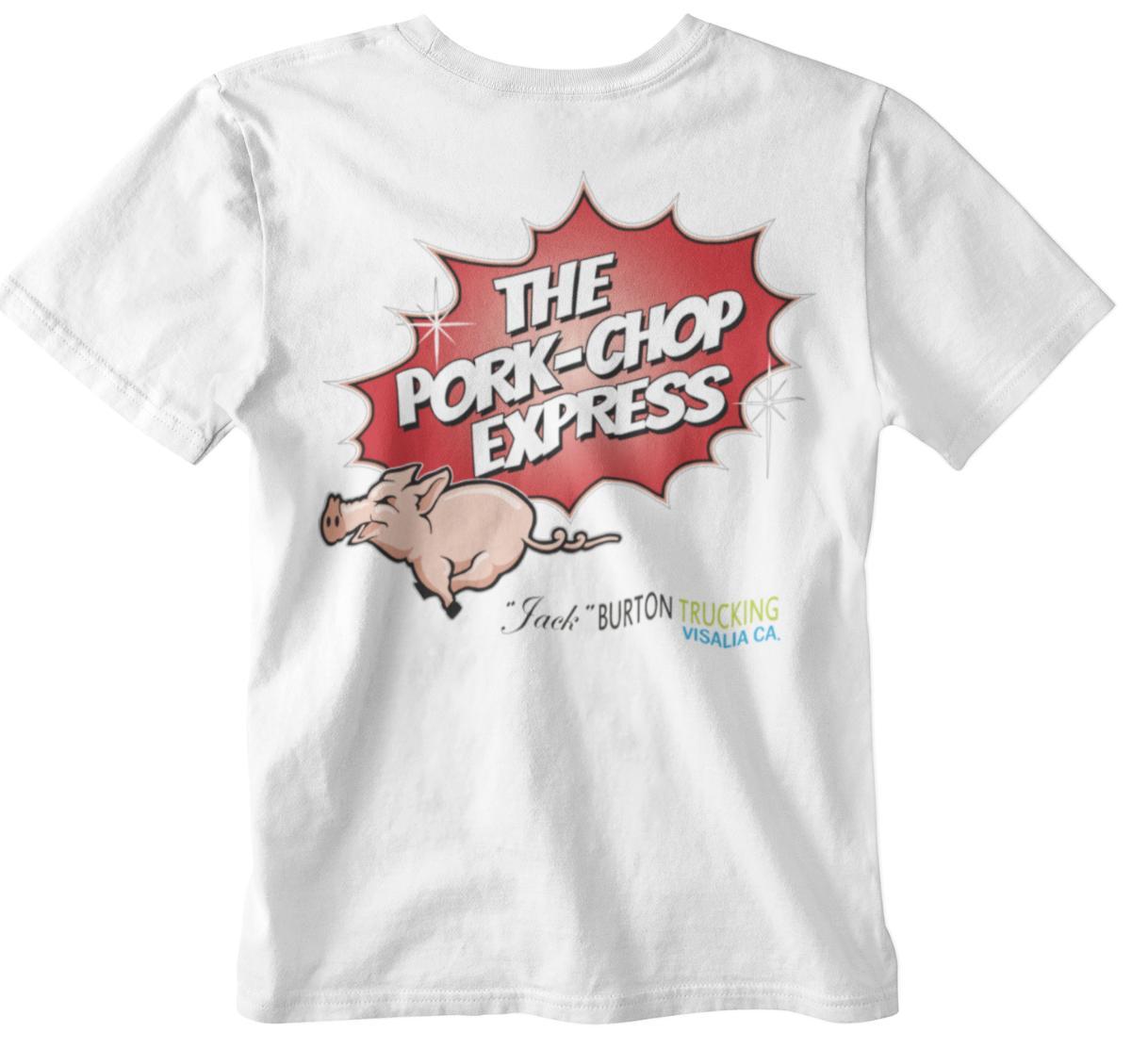 Big Trouble T Shirt Pork Chop Express Little China Movie 80s Classic