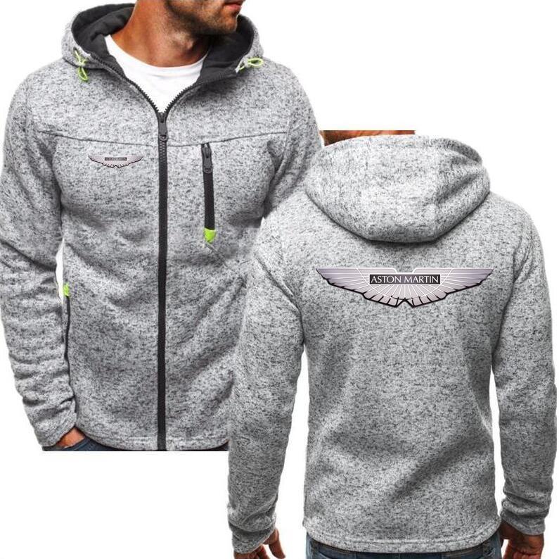56ff9df4b069 2019 2019 Brand Aston Martin Zipper Hoodies Jacket Winter High ...