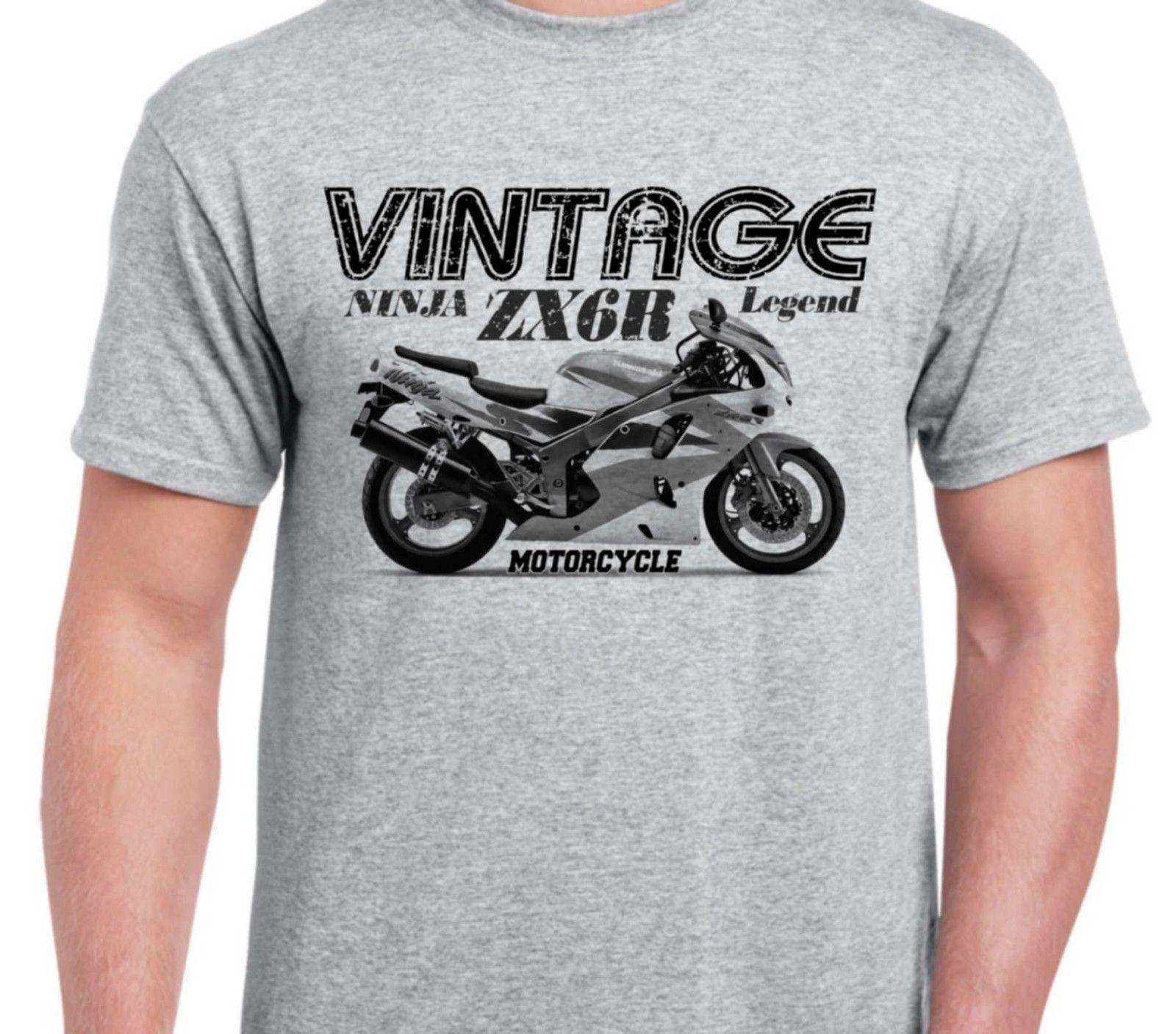 Kawasaki Ninja Zx6r 95 Inspired Vintage Classic Motorcycle Bike