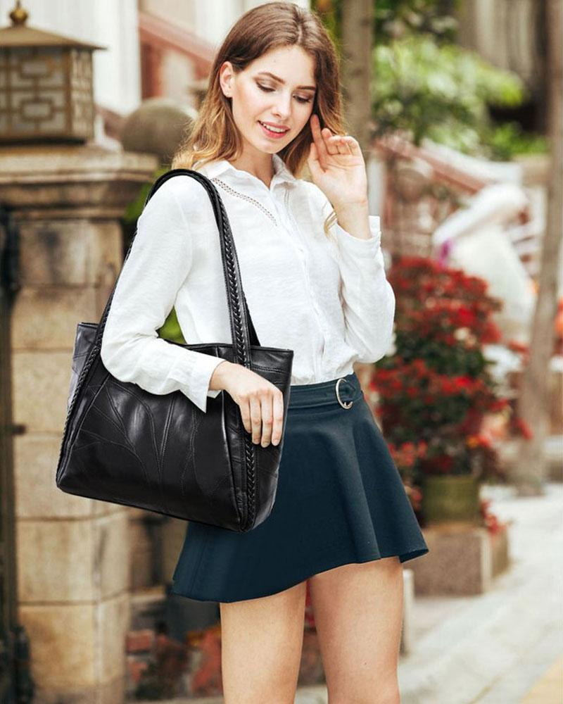 women bag shoulder bags large capacity purse hobo women handbag fashion Designer Crossbody Vintage Leather Ladies HandBags