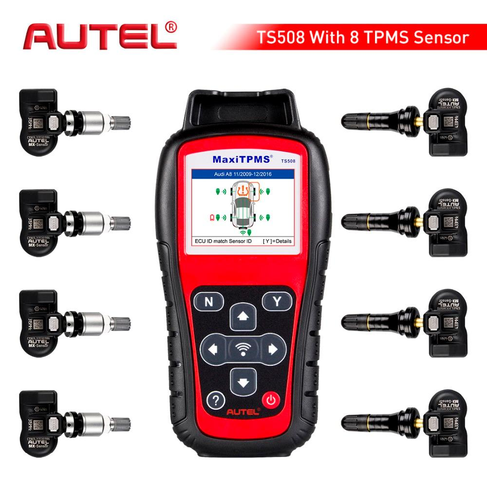 TPMS Replacement Tool Autel MaxiTPMS TS508 K tire Pressure Monitoring System reset Car Diagnostic Tool Automotive Scanner