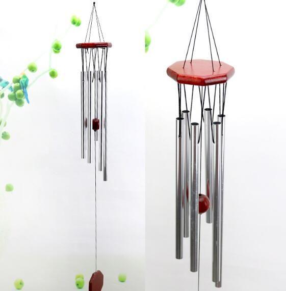 Creative Solid Wood Metal Multi Tube Wind Chime Car Interior
