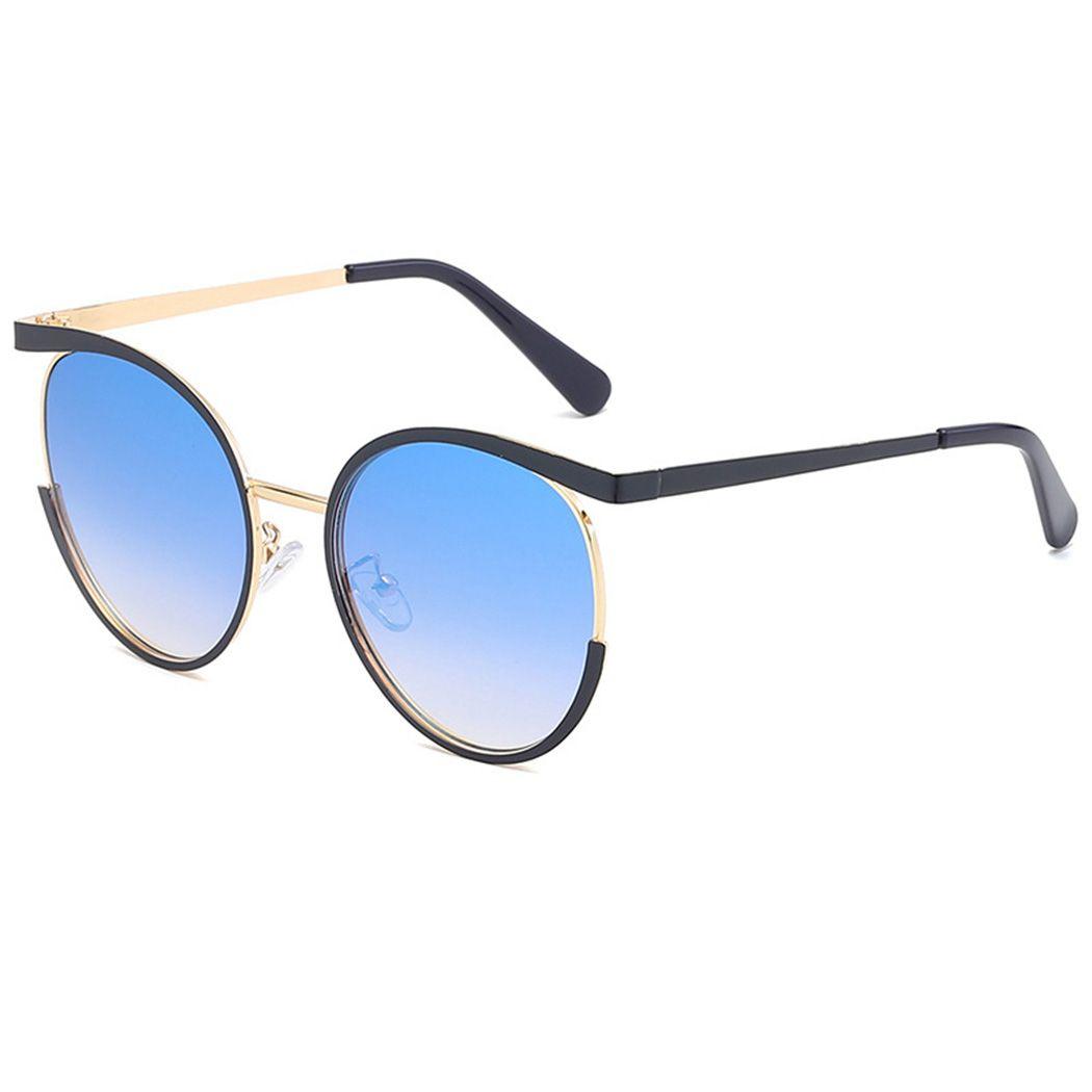 e81794557fd68 Metal Flat Lens Sunglasses For Women Brand Designer Gradient Sunglasses New  Vintage Round Frame Sun Glasses Female Oculos Reading Glasses Prescription  ...