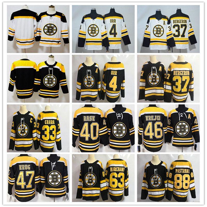 best website 6fc0f 00aa7 73 Charlie Mcavoy Jersey 74 Jake DeBrusk Zdeno Chara Patrice Brad Marchand  4 Bobby Orr Men Hot Hockey Jersey Boston Bruins