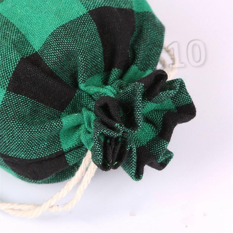Bolsas de regalo de Navidad Vintage algodón Natural bolsa de cordón bolsa de almacenamiento de dulces para niños boda fiesta bolsas de regalo BagsT2I5669