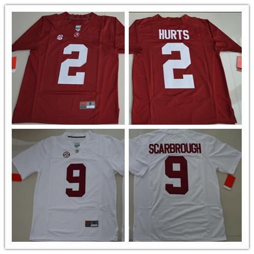 3aa45c65c66 2019 Cheap Mens Alabama Crimson Tide College Football 1 Nick Saban 15  Ronnie Harrison 94 Payne White Red Limited Stitched Personalized Jerseys  From ...