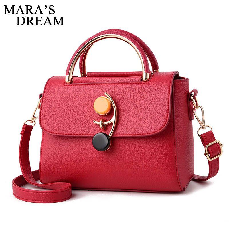 efda3cfb6c Mara S Dream Brand Flap Women Handbags Luxury PU Leather High Quality  Crossbody Bags For Women Vintage Messenger Bag Lock Sac Leather Backpack Clutch  Bags ...