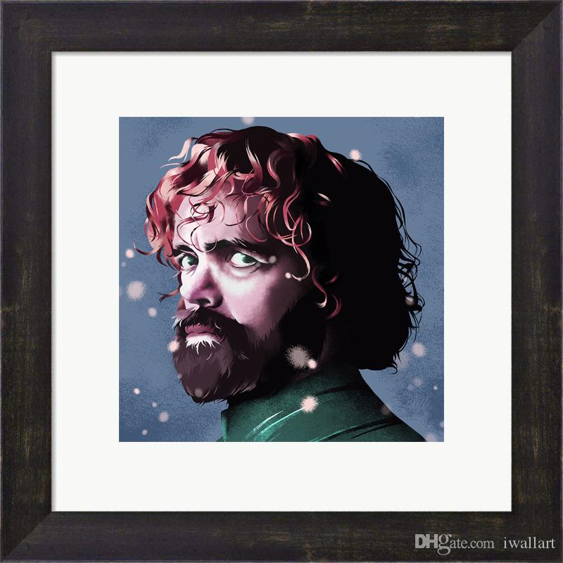 Game of Thrones Movie Poster Painting Artwork A Song of Ice and Fire Poster Canvas Art Wall HD Painting for Home Decoration