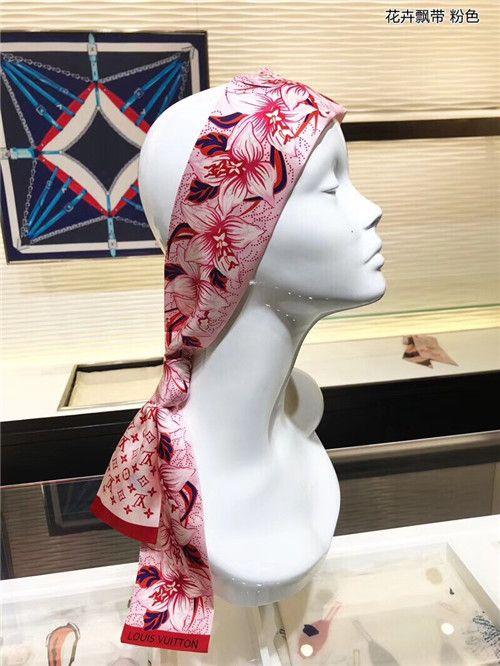 2019 Women Hair Scarf Kerchief Fashion Office Hostess Neck Wraps Female 4  Seasons Decoration 6*90cm Bag Wrist Ribbons