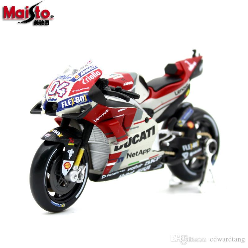 Maisto Aloy Car Model Toys, KDUCATI Honda Racing Motorcycle Models, 1:18 Scale, for Kid' Party Birthday Gifts, Collecting, Home Decorations