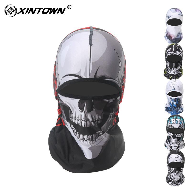 1e90d75f 2019 XINTOWN 22 Styles Cycling Sun Protection Face Mask Wicking Dust Proof  Headgear Bike Bicycle Hat Neck Head Scarf Full Face Mask From Teahong, ...