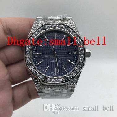 9dbfd58b2b70 Compre Fábrica Nuevos Productos De Calidad Superior 15400 316L Acero  Inoxidable Reloj De Diamantes De Los Hombres Importó Maquinaria Automática  42mm Hombres ...