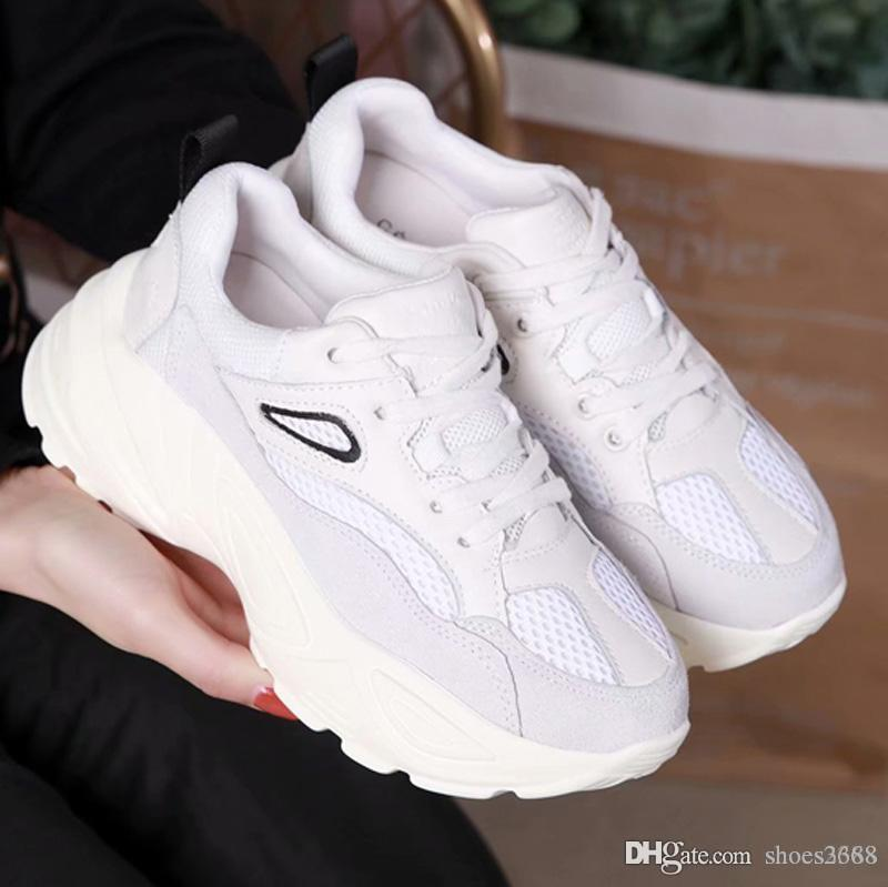 New non-slip wear-resistant breathable luxury casual shoes Fashion designer limited ultra-light increase high-end white shoes 5A nb:121